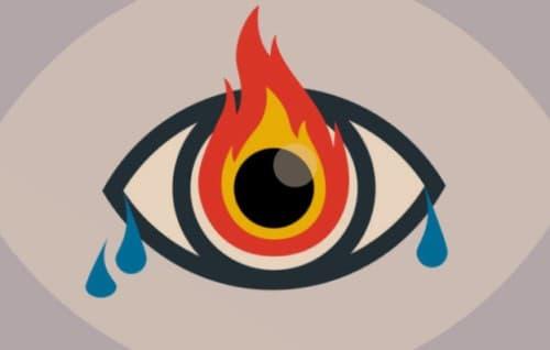 Eyes Burning